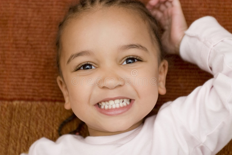 Big Smiling Face royalty free stock photos