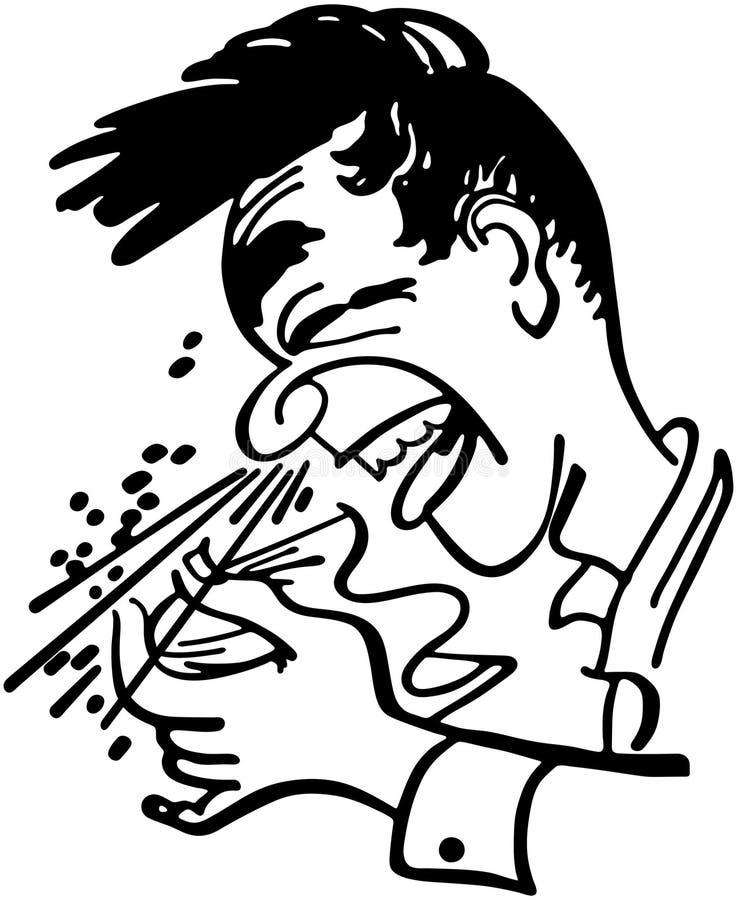 Sneezing Clipart