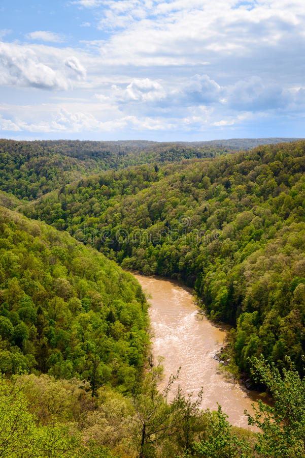 Big South Fork National River and Recreation Area. Allegheny royalty free stock image