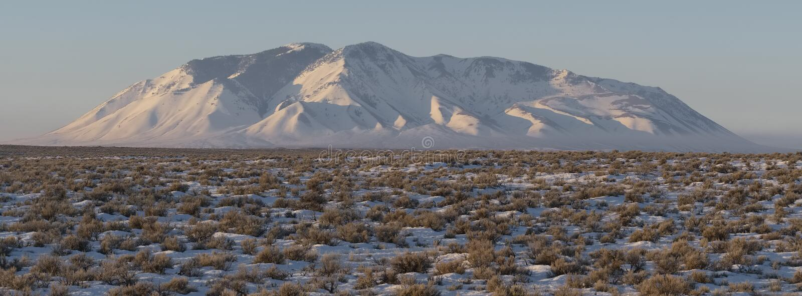 Big Southern Butte royalty free stock image