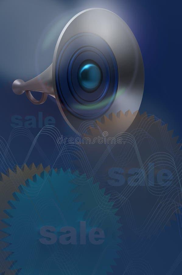 Download Big speaker stock illustration. Image of loud, decibel - 22050815