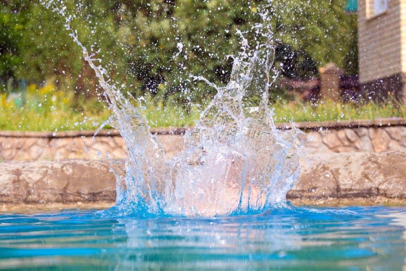 Big Splash royalty free stock images