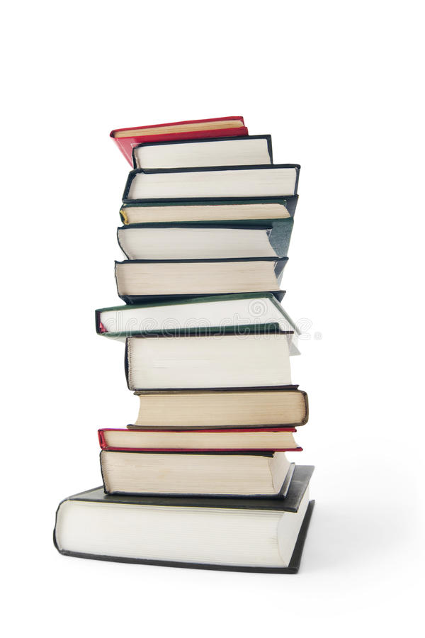 Download Big stack of books stock image. Image of closed, pile - 17921795