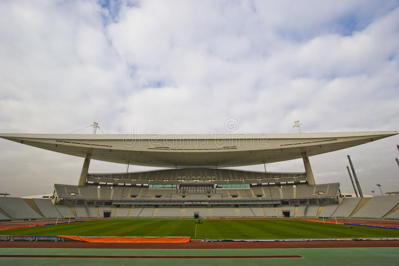 Big Stadium Royalty Free Stock Image