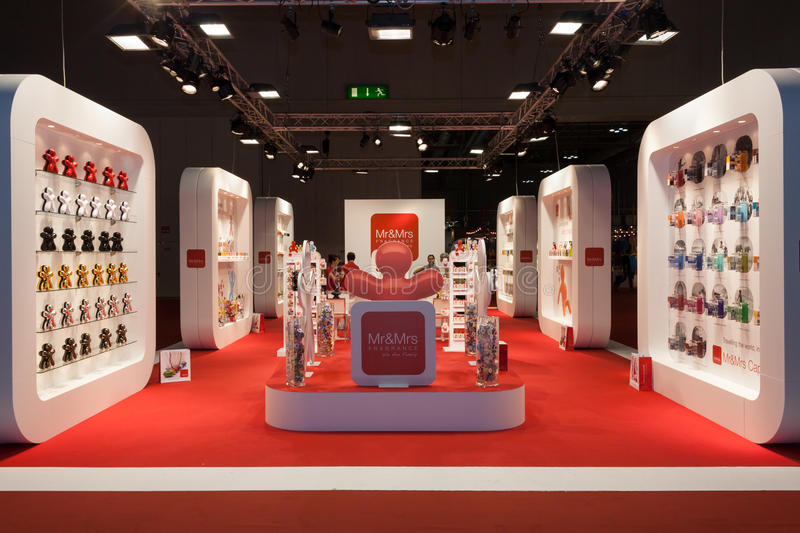 Download A Big Stand At Macef Home Show In Milan Editorial Image