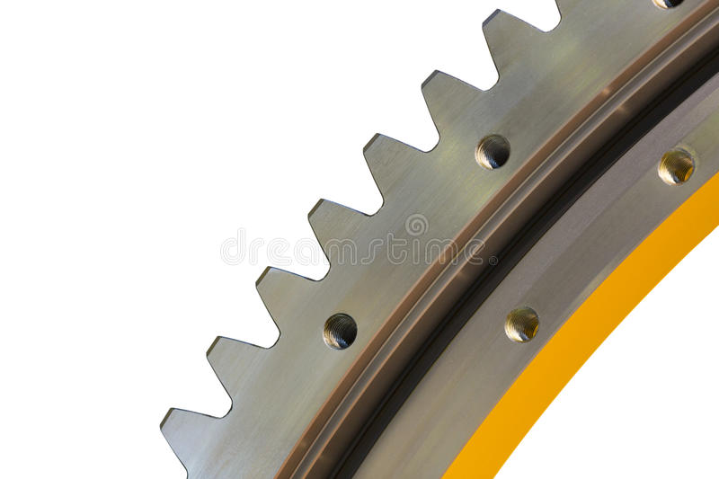 Big steel gear stock photos