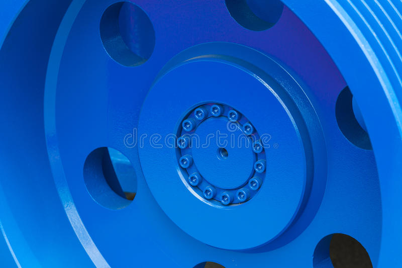 Big steel gear royalty free stock images