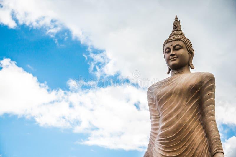 Big Stone Statue of Buddha royalty free stock photography