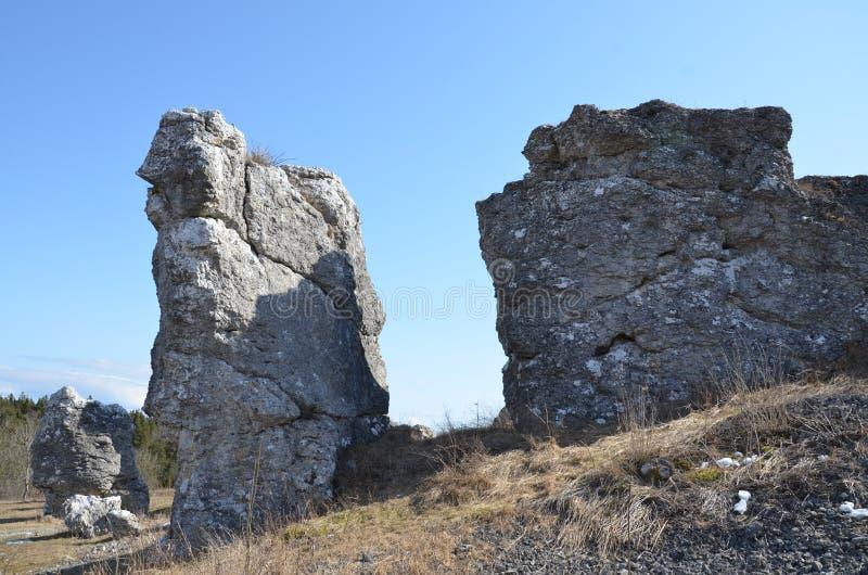 Download Big stones stock image. Image of grå, klinteklinten, sweden - 39505603