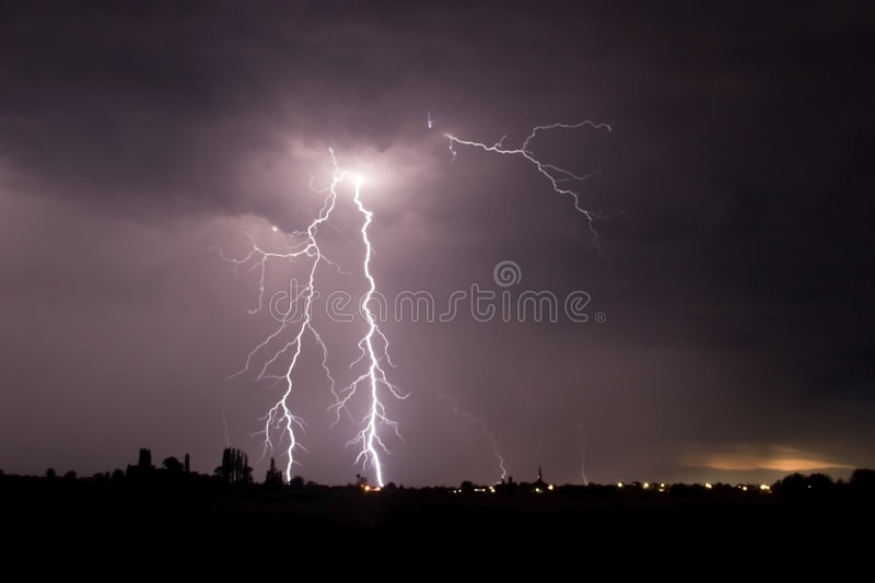 Big storm royalty free stock images