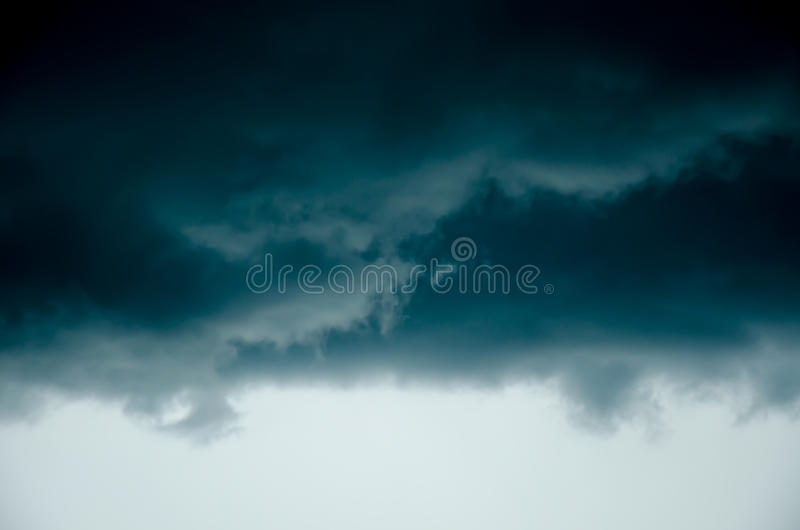 Big storm cloud. From nature royalty free stock images