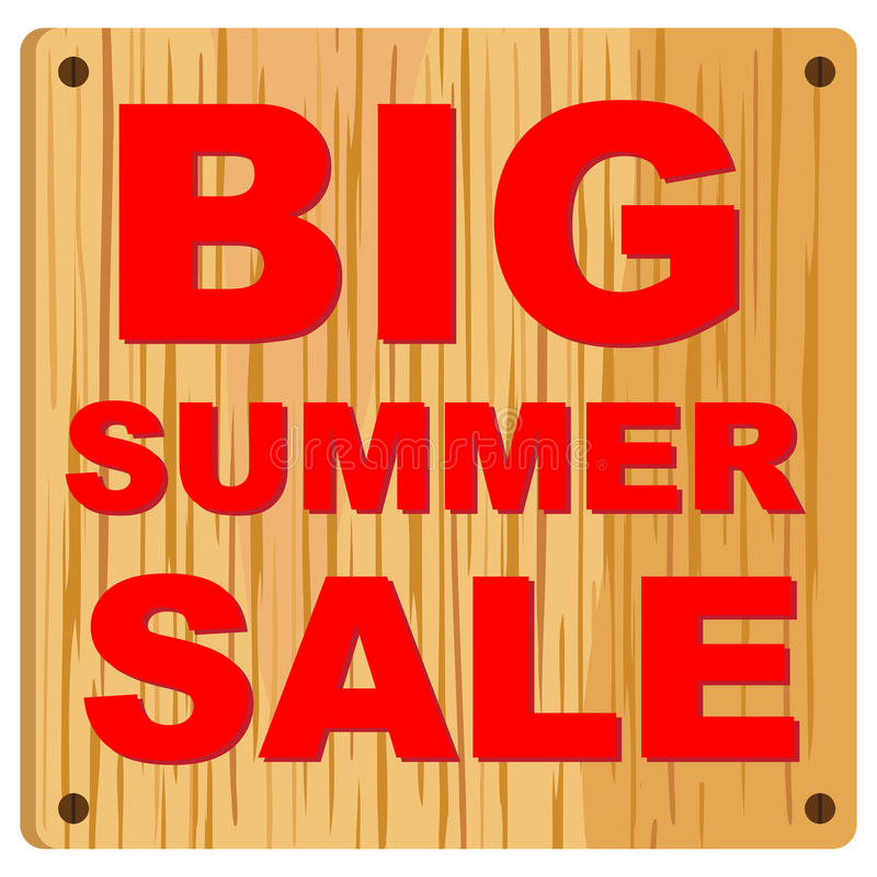 Download Big Summer Sale Royalty Free Stock Photos - Image: 23777998