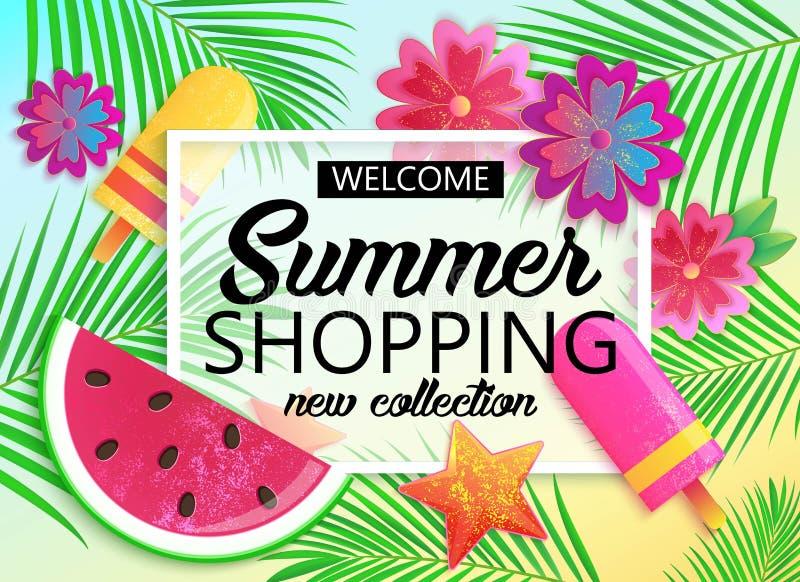 Download Big Summer Sale Background For Banner Wallpaper Stock Vector