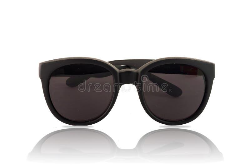 Big sunglasses with dark glasses stock photo
