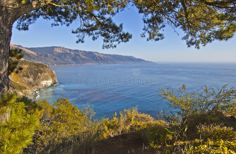 Big Sur Royalty Free Stock Photography