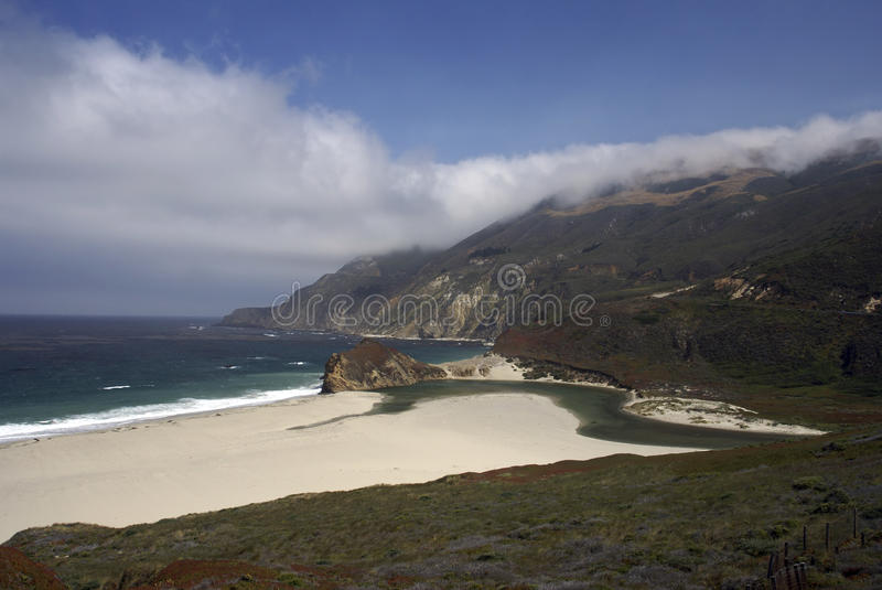Download Big Sur Beach stock image. Image of california, coast - 13702639