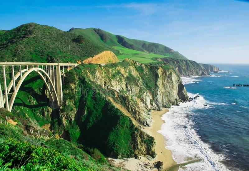 Big Sur, Califórnia fotografia de stock royalty free