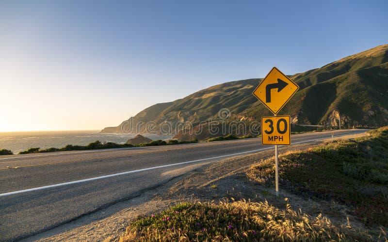 Big Sur, California royalty free stock image