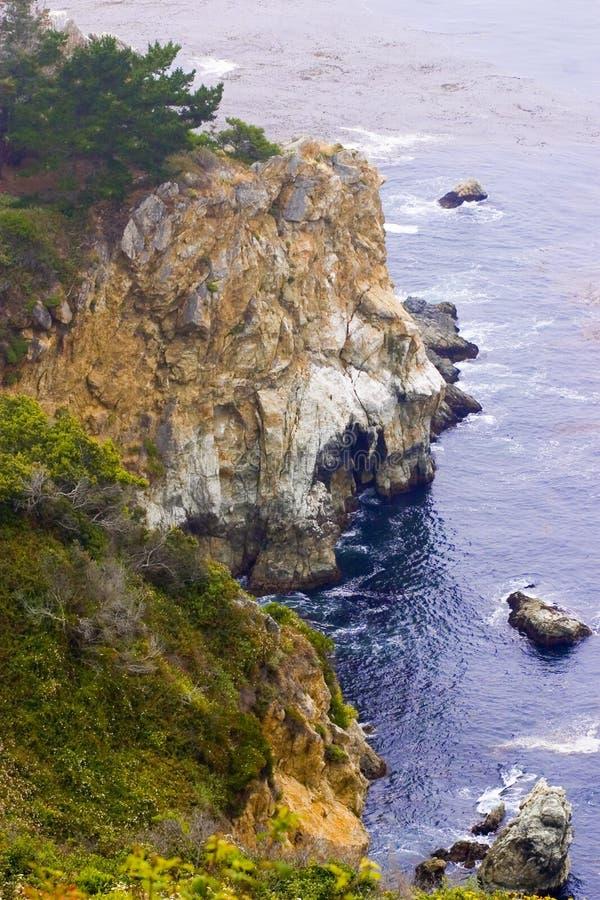 Big Sur Coastline Stock Photos