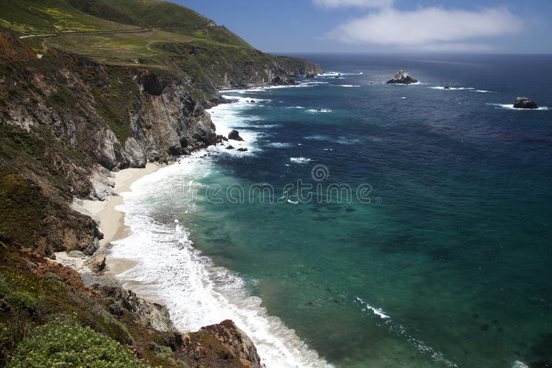 Big Sur Coastline _MG_1927 stock photography