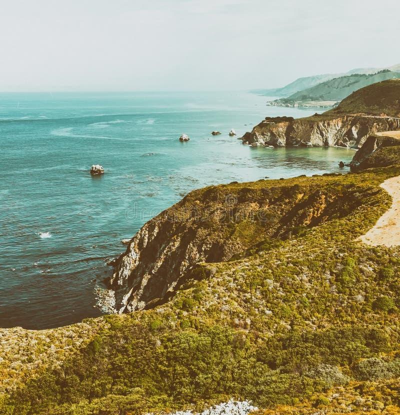Free Big Sur Coastline Near Monterey, CA Stock Image - 103763311