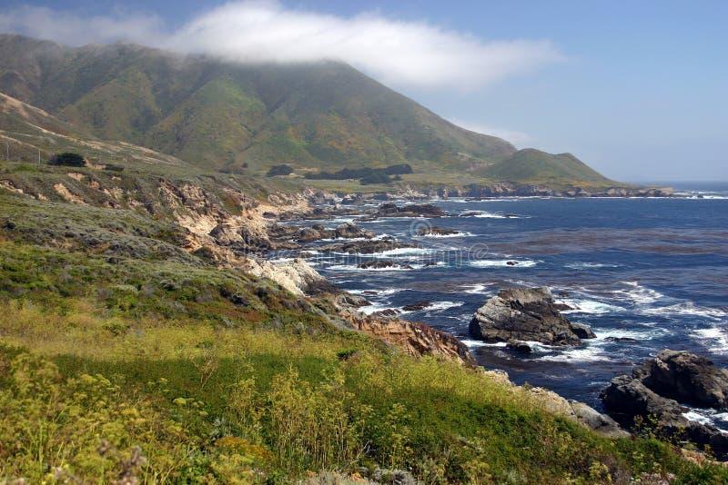 Download Big Sur Scene stock photo. Image of hills, hill, nautical - 467610