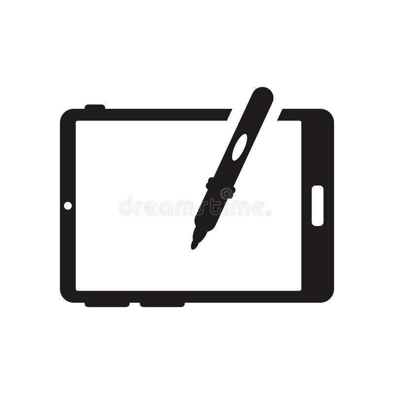 Big Tablet icon. Trendy Big Tablet logo concept on white background from hardware collection stock illustration