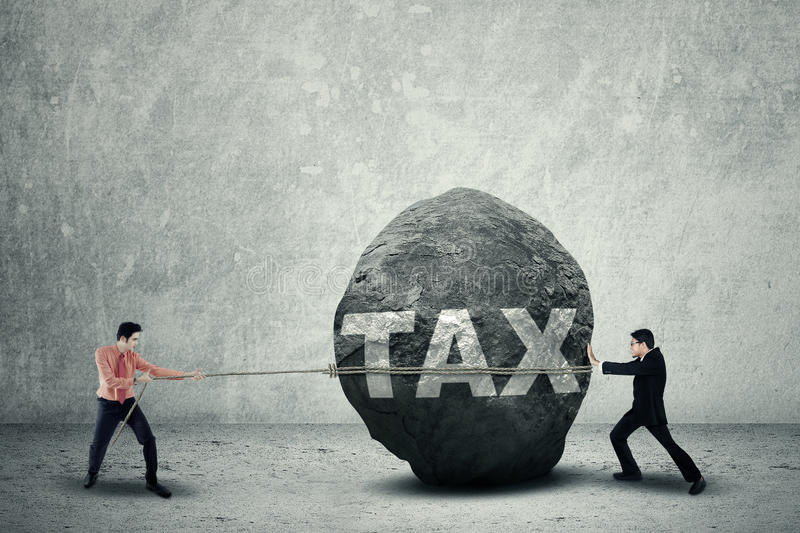 Download Big Tax As Business Obstacle Stock Image - Image: 38124179