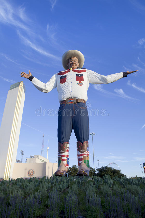 Download Big Tex (new 2013) editorial photography. Image of state - 34528272