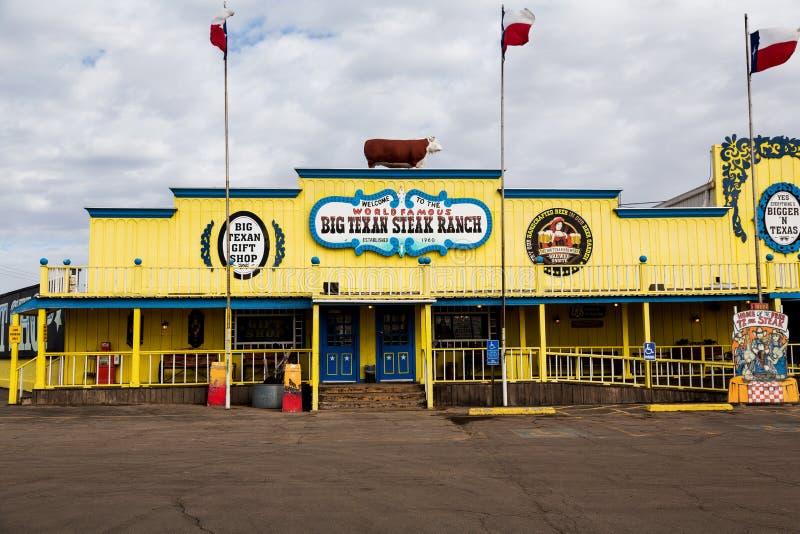 Big Texan Steak Ranch stock image
