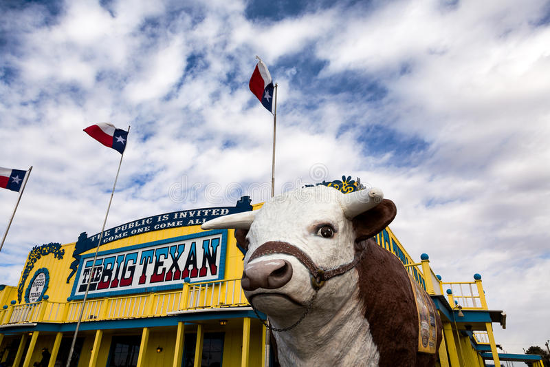 Big Texan Steak Ranch royalty free stock photography