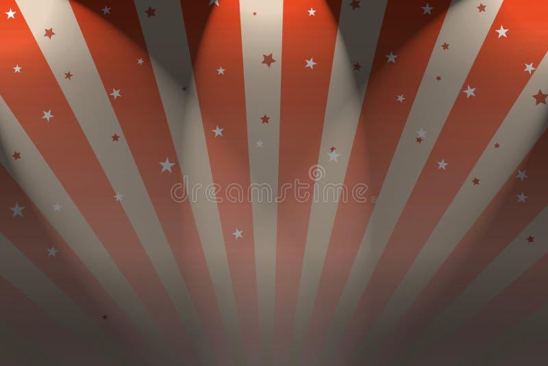 Download Big Top stock illustration. Illustration of cirque, ring - 7243303