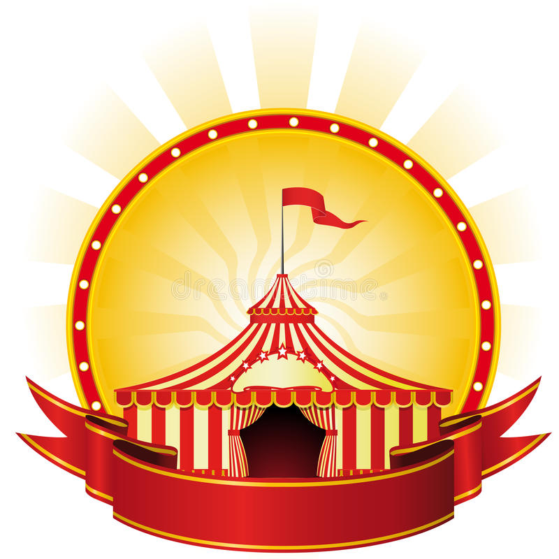Download Big Top Circus stock vector. Image of placard, event - 15421456