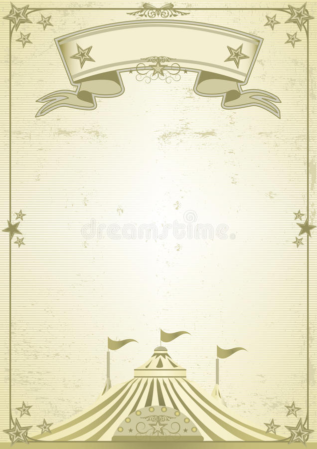 Download Big Top circus letter stock illustration. Illustration of circus - 12170505