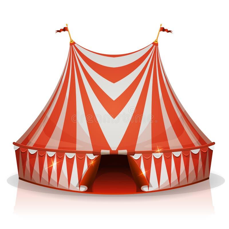 Big Top Circus Tent stock illustration