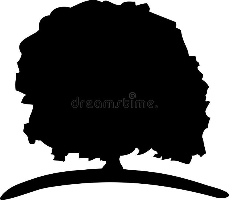 Download Big Tree stock illustration. Image of green, symbol, tree - 6887639
