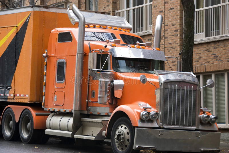 Big Truck Stock Photos