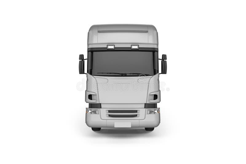 Big Truck Background - Blank mockup for design branding vector illustration