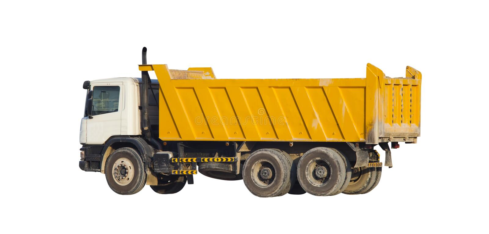 Big truck for construction royalty free stock images