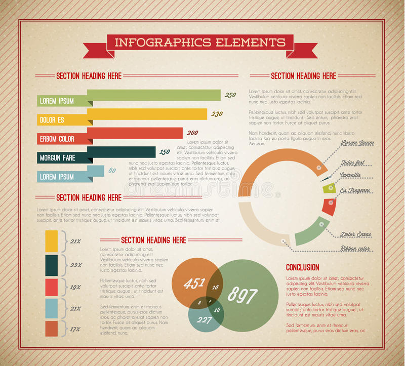 Download Big Vector Set Of Infographic Elements Stock Vector - Illustration: 23076752