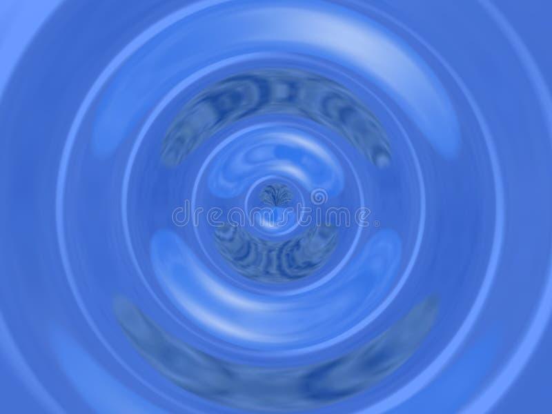 Big waterdrop stock image