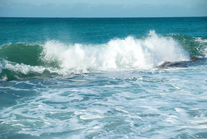 Download Big wave stock photo. Image of hawaii, pure, green, clear - 24205290