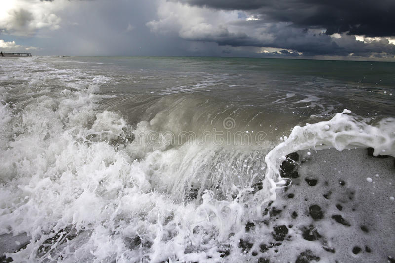 Download Big Wave stock photo. Image of environment, disaster - 60177420