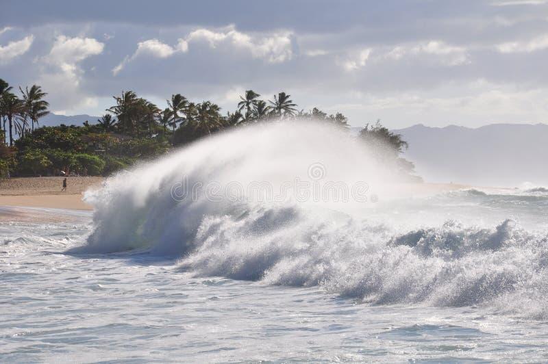 Download Big Wave On Sunset Beach, Oahu, Hawaii Stock Image - Image: 25380467