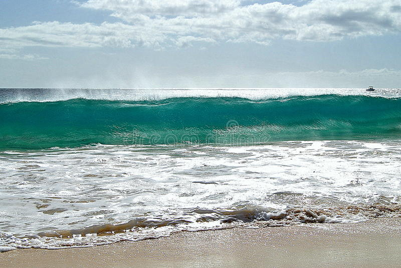 Big Waves royalty free stock photos