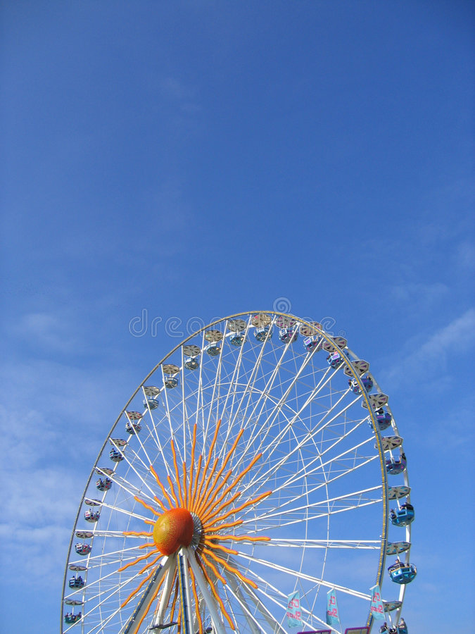 Download Big wheel stock image. Image of perspective, riesenrad, round - 10279