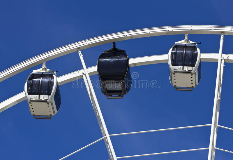 Download Big Ferris Wheel Against Blue Sky Stock Photo - Image: 24258546