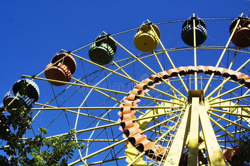 Download Big wheel stock photo. Image of height, carousels, colors - 925652