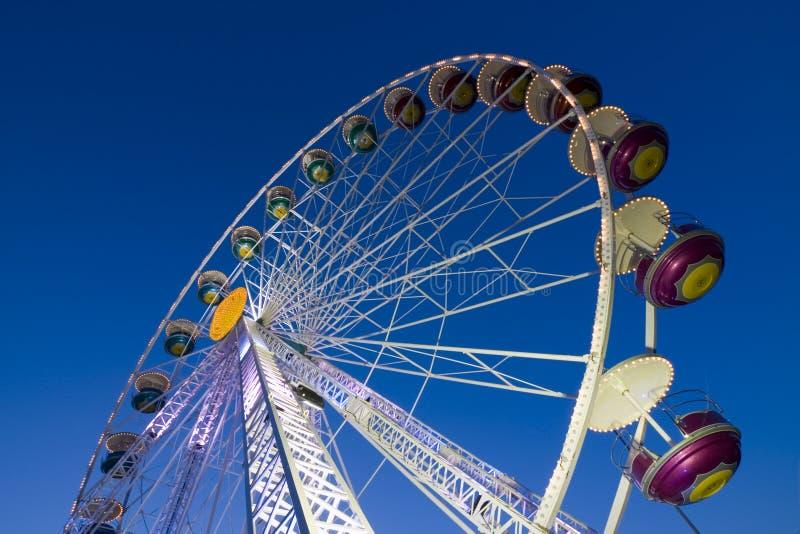 Big Wheel In A Amusement Park Stock Image