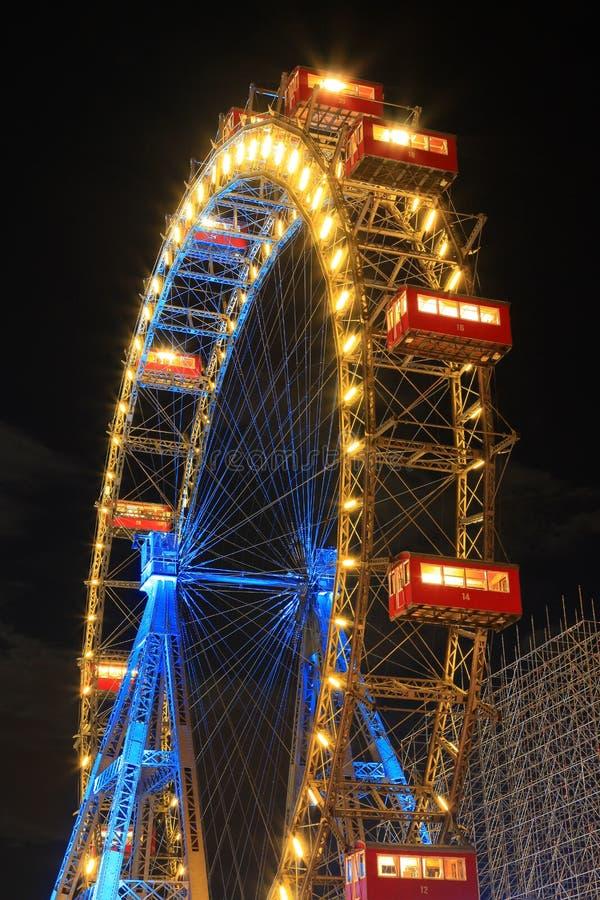 Big Wheel, Vienna royalty free stock image